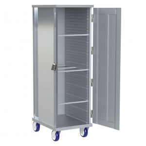 Heavy Duty 38 Pan Capacity with Solid Door