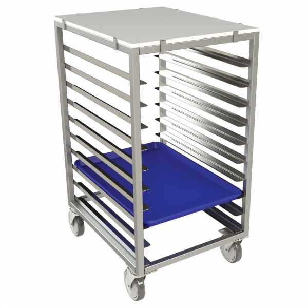 Poly-Top Half Size Pan Rack