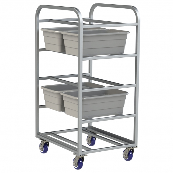 Double Deep, Heavy Duty 10 Lug Capacity