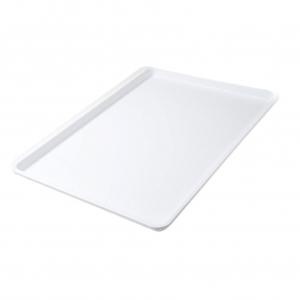"""White 18"""" x 26"""" White Bakery Tray Tray"""