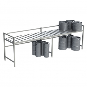 Half Size 1 Shelf Base Unit with Add-on Unit