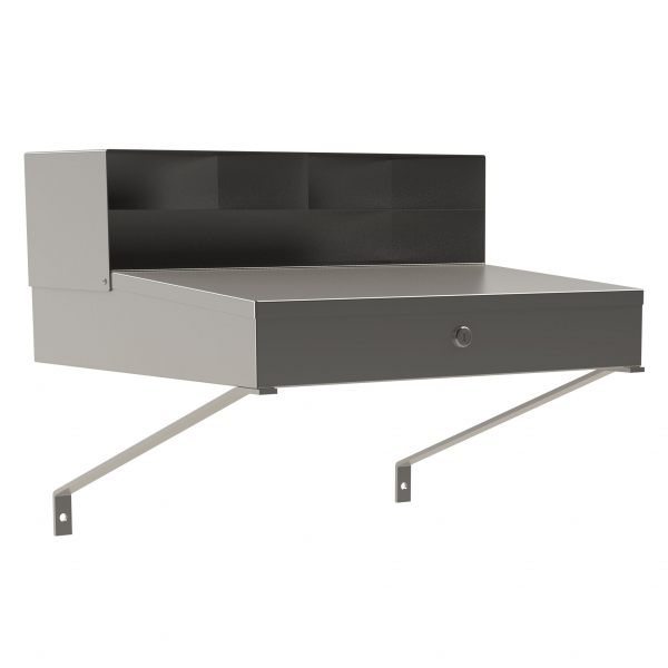 Wall Mounted Stainless Steel Receiving Desk
