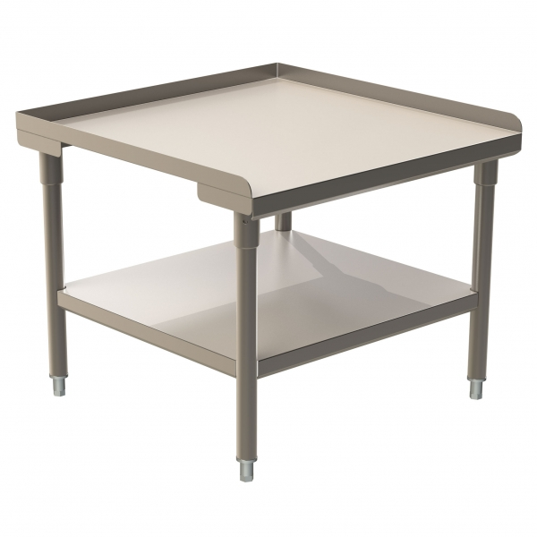 Equipment Stand (3 Lips Up) with Stainless Steel Under Shelf