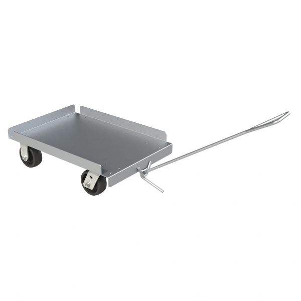 Aluminum Sheet Metal Dolly with Pull Handle