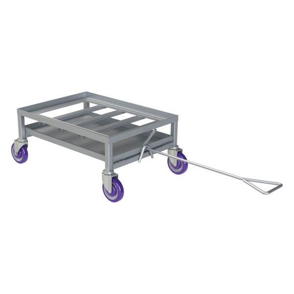 Wet Mover Dolly with Pull Handle