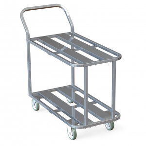 Aluminum Channel Utility Cart