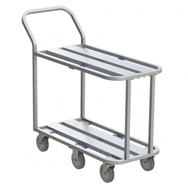 6 Wheel Channel Utility Cart
